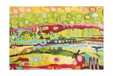 Abstract Bohemian Prints by Karen Fields