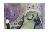 Venice Watercolors IX Prints by Samuel Dixon