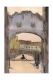 Venice Watercolors VII Affiche par Samuel Dixon