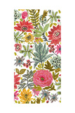Multi Bloom Floral I Posters by Karen Fields