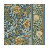 Nouveau Textile Motif IX Art by Vision Studio