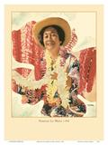 Hawaiian Lei Maker Posters por Toni Frissell