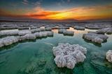 Crystal Sunrise Lámina fotográfica por Ido Meirovich