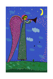 Image of an Angel Who Blows the Trumpet Posters par  Dmitriip