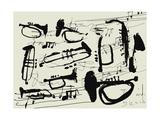 Instruments à vent Posters par  Dmitriip