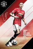 Man Utd Matic 2017-2018 Affiches