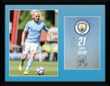 Man City Silva 17/18 Collector-tryk