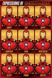 Avengers (Expressions Of Iron Man) Print