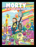 Rick & Morty - Cuteness Overload Collector Print