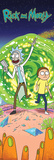 Rick and Morty Plakater