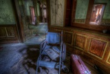 Abandoned Building Interior Reproduction photographique par Nathan Wright