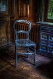 Alter Stuhl Fotografie-Druck von Nathan Wright