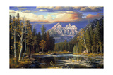 Autumn Repose Giclee Print by R.W. Hedge