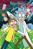 Rick and Morty Stampe