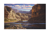 Eternal Waters Giclee Print by R.W. Hedge