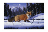 Red, White and Blue Giclee Print by R.W. Hedge