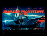 Blade Runner 2049 - Flying Car Collector Print