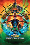 Thor: Ragnarok - Thor, Hulk, Valkyrie, Loki, Hela, Heimdall, Grandmaster Kunstdrucke
