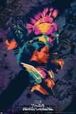 Thor: Ragnarok - Thor, Hulk, Valkyrie, Loki, Hela Poster