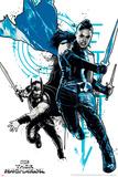 Thor: Ragnarok - Thor, Valkyrie Prints