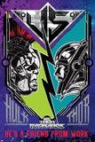Thor: Ragnarok - Hulk vs. Thor Posters