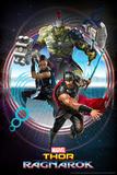 Thor: Ragnarok - Thor, Hulk, Valkyrie Plakater