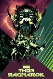 Thor: Ragnarok - Hela, Thor, Hulk Poster