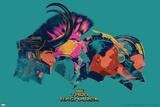 Thor: Ragnarok - Thor, Hulk, Valkyrie, Loki Stampe