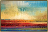 Horizons I Framed Canvas Print by Selina Rodriguez