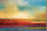 Horizons I Stretched Canvas Print by Selina Rodriguez