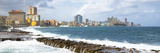 Cuba Fuerte Collection Panoramic - Malecon Wall of Havana Reproduction photographique par Philippe Hugonnard