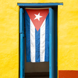 Cuba Fuerte Collection SQ - Cuban Flag Photographic Print by Philippe Hugonnard