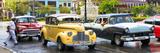 Cuba Fuerte Collection Panoramic - Vintage American Car Taxi of Havana Stampa fotografica di Philippe Hugonnard