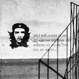 Cuba Fuerte Collection SQ BW - Cuban Facade Reproduction photographique par Philippe Hugonnard