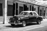 Cuba Fuerte Collection B&W - Chevy Deluxe II Fotografie-Druck von Philippe Hugonnard