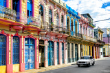 Cuba Fuerte Collection - Colorful Facades Photographic Print by Philippe Hugonnard