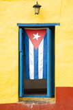 Cuba Fuerte Collection - Cuban Flag Photographic Print by Philippe Hugonnard
