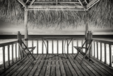 Cuba Fuerte Collection B&W - Ocean View Fotografie-Druck von Philippe Hugonnard