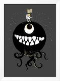 Space Oddity Posters por Michael Buxton