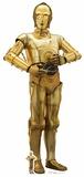 Star Wars: The Last Jedi - C-3PO - Mini Cutout Included Pappfigurer