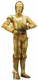 Star Wars: The Last Jedi - C-3PO - Mini Cutout Included Pappfigurer