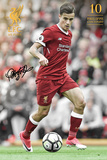 Liverpool - Coutinho 17/18 Poster