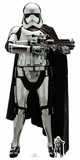 Star Wars: The Last Jedi - Captain Phasma - Mini Cutout Included Pappfigurer