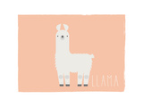 Llama Print by Rebecca Lane