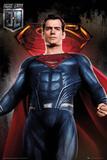 Justice League - Superman Kunstdrucke