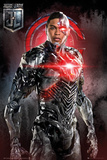 Justice League - Cyborg Solo Plakater
