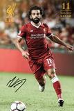 Liverpool - Salah 17/18 Poster