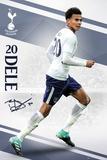 Tottenham - Alli 17/18 Poster