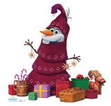 Olafs Frozen Adventure - Olaf Knitted Tree Cardboard Cutouts