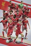Liverpool - 17/18 Affiche